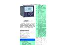 A.YITE - Model GE-132 - PH & OPR Analyzer Monitor Meter Datasheet