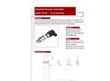A.YITE - Model GE- - Flush Firm Diaphragm Pressure Transmitter Datasheet