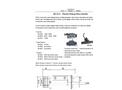 GE-312 Small Size Plastic Piston Flow Switch