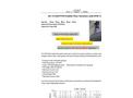 GE-313AD PVC T-pipe PTFE Teflon Paddle Flow Switch