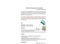 GE-371 Humidity Temperature Transmitter CMOSens