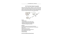 A.YITE - Model GE-374 - Air Flow Velocity Transmitter Measurement Datasheet