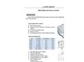 A-Yite - Model EU-109H - Portable Handhold Ultrasonic Flowmeter Brochure