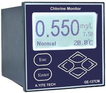 A.YITE - Model GE-137 - Residual Chlorine Analyzer Monitor