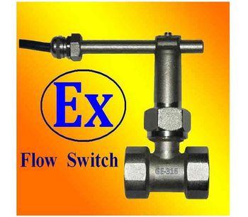 AYT - ATEX Paddle Flow Switches