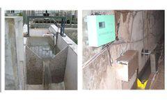 A.YITE - Model GE-1208 - Open Channel Ultrasonic Flowmeter