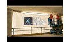 Shrink-Wrap Construction Screens - Tufcoat Video