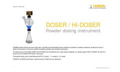 Doser - Powder Doser - Brochure