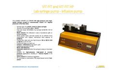 Lambda - Model VIT-FIT - Polyvalent Syringe Pump Brochure
