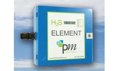 Pollution Monitors - Model Element Series - H2S Gas Monitors