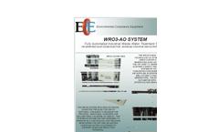 Model WR 3 - Multi-Media Filtration Units Brochure