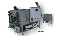 ECE - Model CF 800 - Automatic ClearFloc Wastewater Treatment System