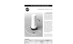 Countertop  Water Filtration Units- Brochure