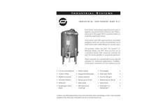 Industrial Softeners and Filter Systems- Brochure