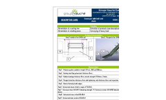 Waste Conveyor with Belt and Chain Brochure