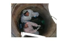 Leak sealing solutions for wastewater