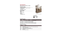 Model SAS - Single Animal Scale Brochure