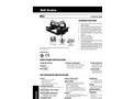 Master - Model 311 - Belt Scale Weigh Frame– Specifications
