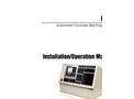 Master - Model 221DB - Belt Scale Weigh Frame Manual
