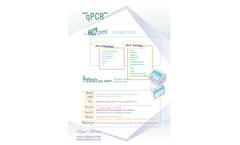 Royal Biotech - Model qPCR - Drinking Water Test - Datasheet