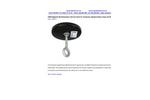 Model MMH-5 - 200lb Magnetic Mounting Base String Lights Brochure
