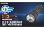 Explosion Proof LED Flashlight - 4 Watt - Push Button Switch - MADE IN THE USA