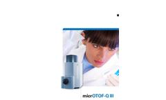 Bruker - Model micrOTOF-Q III  - Brochure