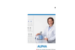 Bruker - Model ALPHA - FT-IR Routine Spectrometers - Brochure