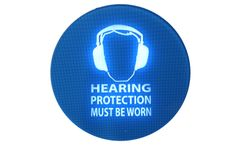 Interactive Noise Warning Signs for Hearing Protection Zones