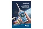 Pulsar Nova Sound Level Meter - Datasheet