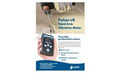 Pulsar vB - Hand Arm Vibration Meter - Datasheet