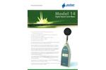 Pulsar Model 14 - Digital Sound Level Meter - Datasheet