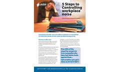 Pulsar Instruments - 5 Steps to Controlling Noise at Work - Employers Guide