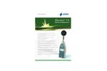 Pulsar Model 14 Digital Sound Level Meter - Datasheet (German)