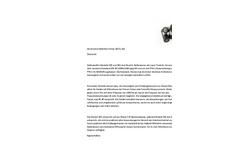 Pulsar Model 105 & 106 - Acoustic Calibrator - Datasheet (German)