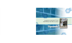 ASHRAE - Lessons Learned from HQ Renovation Brochure