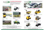 Bradshaw Electric Vehicles- Brochure