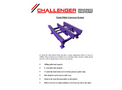 Challenger - Chain Pallet Conveyors - Brochure