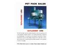 Challenger Pet Pack Baler - Brochure