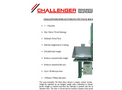 Challenger Semi Automatic Pet Baler - Brochure