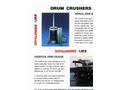 Challenger Drum Crusher - Brochure