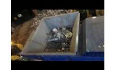 EDGE Shear Slayer shredding sheet metal - Video