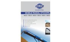 MS20 – MS30 – MS40 – MS50 – MS65 – MS80 – MS100 Series Mobile Radial Stockpilers Brochure