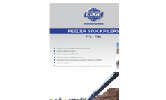 FTS – FMS Series Tracked Feeder Stacker Brochure