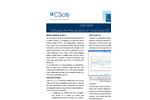 CSols - Mobile Data Capture Software with Remote Sampler Brochure