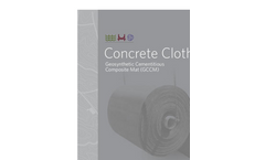 Milliken - Model GCCM - Concrete Cloth for Ditch and Channel Lining Brochure