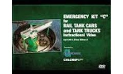C-DVD - Emergency Kit C for Chlorine Tank Cars and Tank Trucks Instructional - Video