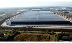 Installation Completed of the World`s Most Powerful Currently Operational Solar Roof