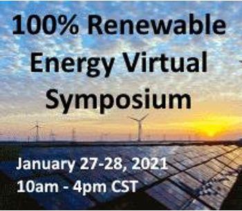 100% Renewable Energy Virtual Symposium