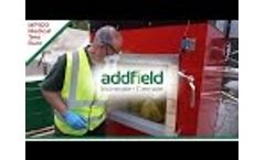 Medical Waste Incinerator Testing Addfield MP 100 Video